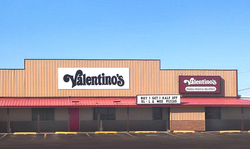 Valentino S Has Been A Part Of The Ogallala Community Since 1988 And Family Owned Franchise 1991 Conveniently Located Just Off Interstate