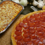 Lasagne and pizza combo package