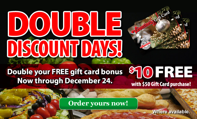 Double Discount Days!